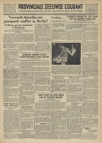 Provinciale Zeeuwse Courant 1950-04-25