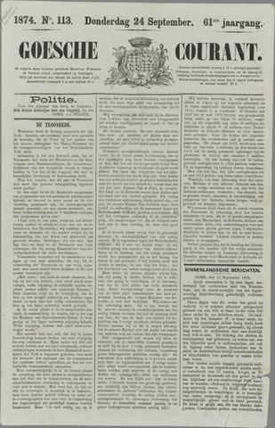 Goessche Courant 1874-09-24