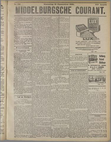 Middelburgsche Courant 1921-12-19