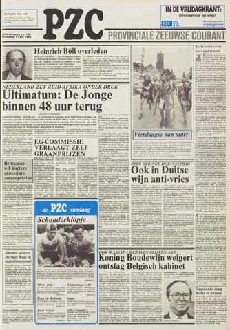 Provinciale Zeeuwse Courant 1985-07-17