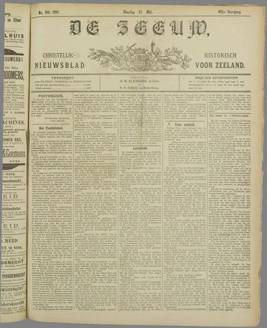 De Zeeuw. Christelijk-historisch nieuwsblad voor Zeeland 1897-05-25