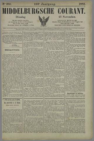 Middelburgsche Courant 1883-11-27