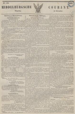 Middelburgsche Courant 1851-11-18