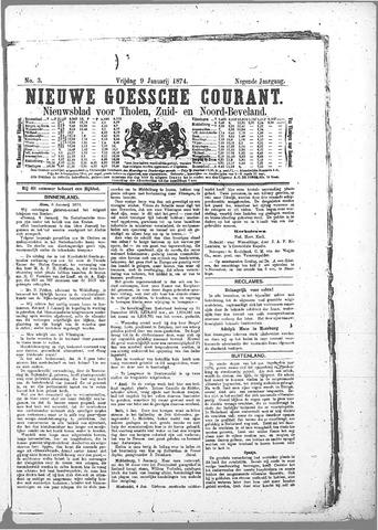 Nieuwe Goessche Courant 1874-01-09