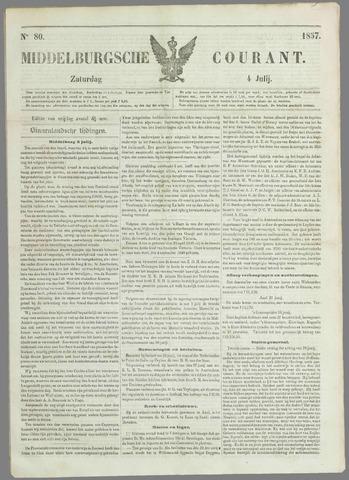 Middelburgsche Courant 1857-07-04