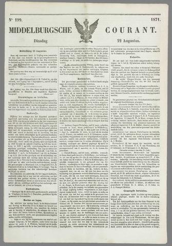 Middelburgsche Courant 1871-08-22