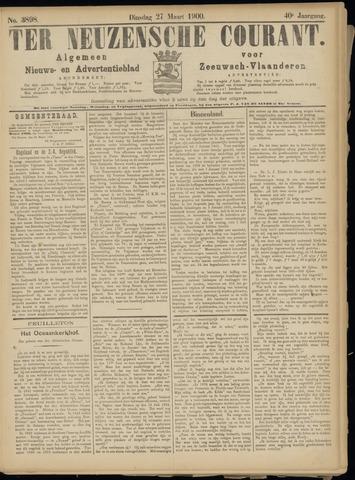 Ter Neuzensche Courant. Algemeen Nieuws- en Advertentieblad voor Zeeuwsch-Vlaanderen / Neuzensche Courant ... (idem) / (Algemeen) nieuws en advertentieblad voor Zeeuwsch-Vlaanderen 1900-03-27