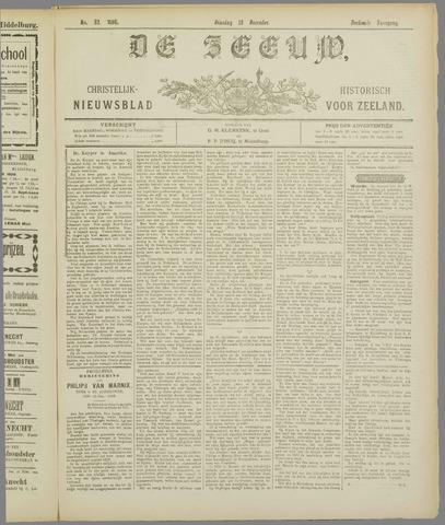 De Zeeuw. Christelijk-historisch nieuwsblad voor Zeeland 1898-12-13
