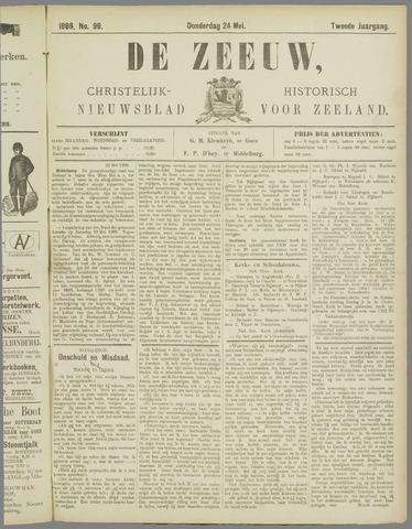 De Zeeuw. Christelijk-historisch nieuwsblad voor Zeeland 1888-05-24
