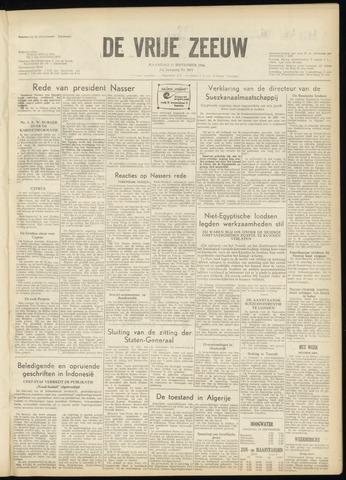 de Vrije Zeeuw 1956-09-17
