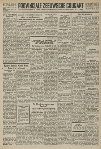 Provinciale Zeeuwse Courant 1946-03-07
