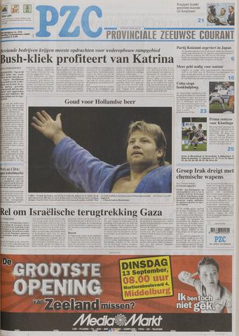 Provinciale Zeeuwse Courant 2005-09-12