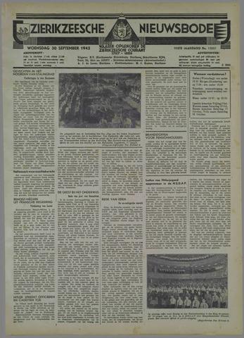Zierikzeesche Nieuwsbode 1942-09-30