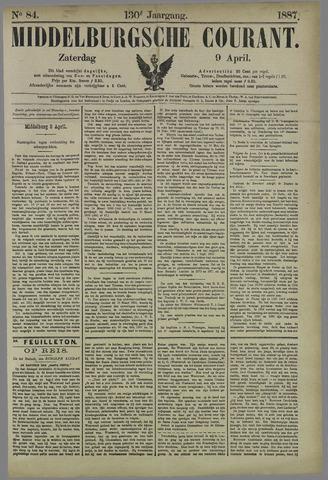 Middelburgsche Courant 1887-04-09