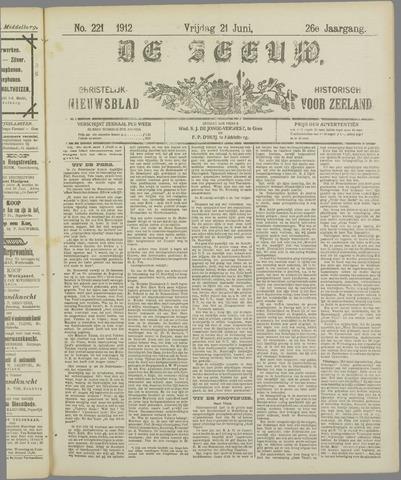 De Zeeuw. Christelijk-historisch nieuwsblad voor Zeeland 1912-06-21