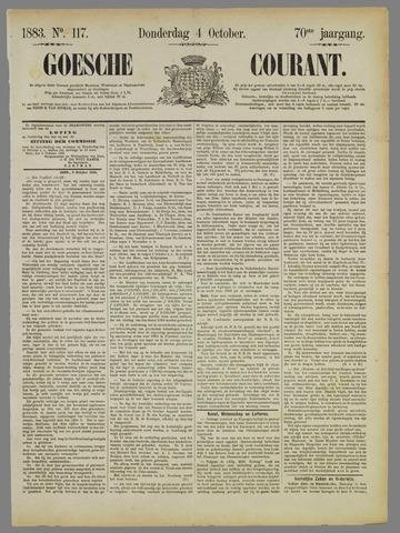 Goessche Courant 1883-10-04