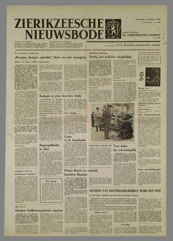 Zierikzeesche Nieuwsbode 1965-10-04