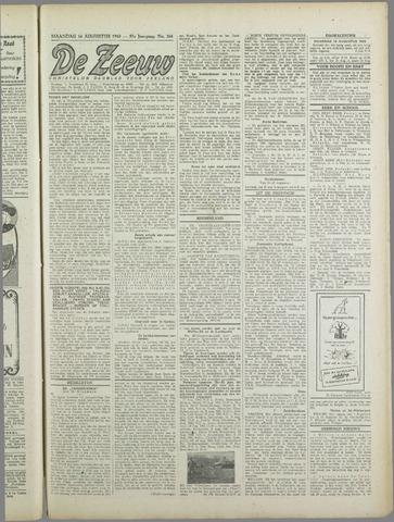 De Zeeuw. Christelijk-historisch nieuwsblad voor Zeeland 1943-08-16