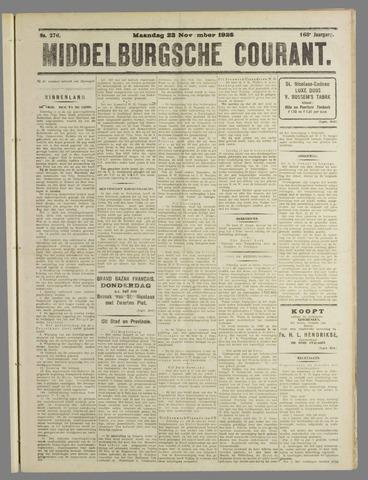 Middelburgsche Courant 1925-11-23