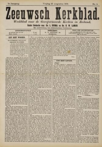 Zeeuwsche kerkbode, weekblad gewijd aan de belangen der gereformeerde kerken/ Zeeuwsch kerkblad 1909-08-20
