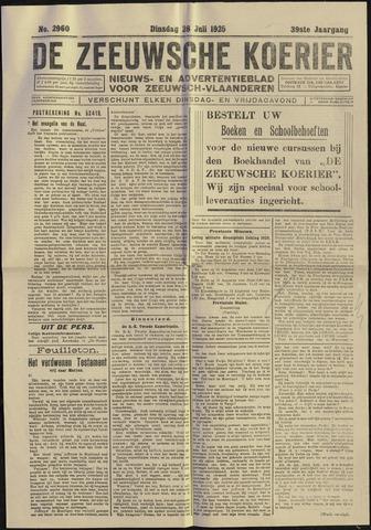 Zeeuwsche Koerier 1925