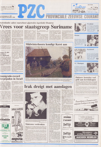 Provinciale Zeeuwse Courant 1990-12-24