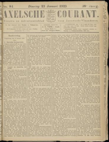Axelsche Courant 1923-01-23