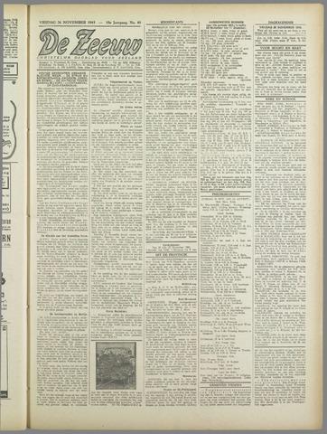 De Zeeuw. Christelijk-historisch nieuwsblad voor Zeeland 1943-11-26