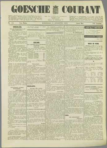 Goessche Courant 1932-08-31