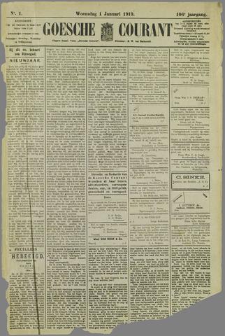 Goessche Courant 1919-01-01