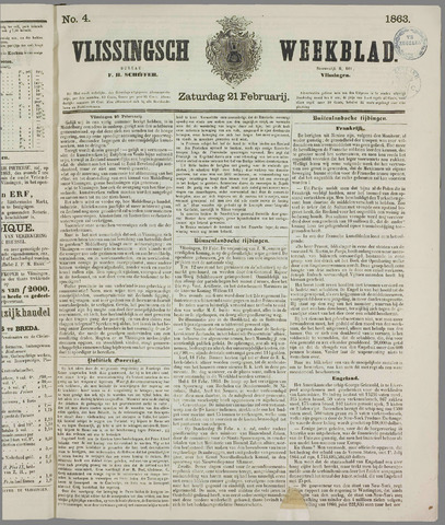 Vlissings Weekblad 1863-02-21