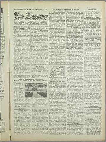 De Zeeuw. Christelijk-historisch nieuwsblad voor Zeeland 1943-02-23
