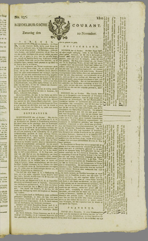 Middelburgsche Courant 1810-11-10