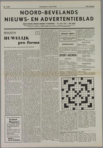 Noord-Bevelands Nieuws- en advertentieblad 1983-03-10