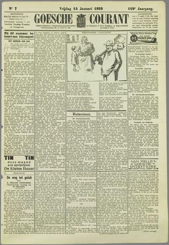 Goessche Courant 1932-01-15