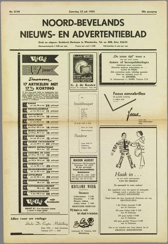 Noord-Bevelands Nieuws- en advertentieblad 1955-07-23