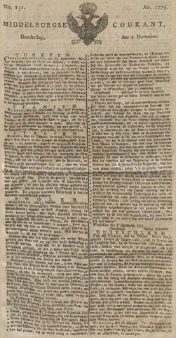 Middelburgsche Courant 1775-11-02
