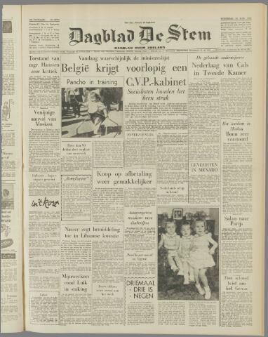 de Stem 1958-06-25