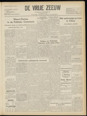 de Vrije Zeeuw 1954-11-25