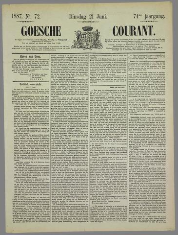 Goessche Courant 1887-06-21