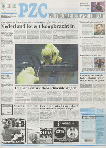Provinciale Zeeuwse Courant 2002-08-21
