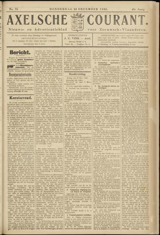 Axelsche Courant 1925-12-24