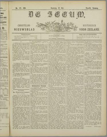 De Zeeuw. Christelijk-historisch nieuwsblad voor Zeeland 1898-07-28