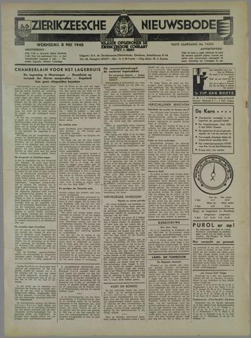 Zierikzeesche Nieuwsbode 1940-05-08