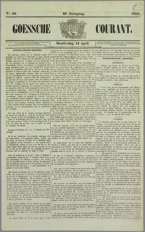 Goessche Courant 1859-04-14