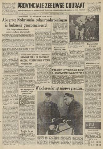Provinciale Zeeuwse Courant 1959-02-14