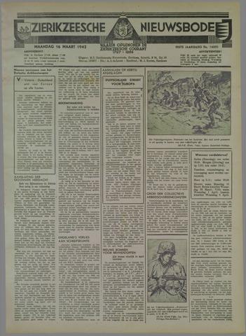 Zierikzeesche Nieuwsbode 1942-03-16