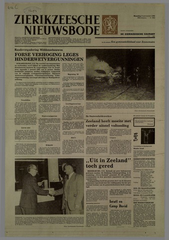 Zierikzeesche Nieuwsbode 1981-11-09
