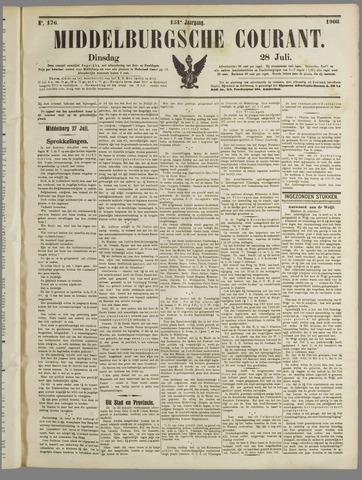 Middelburgsche Courant 1908-07-28