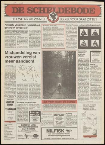 Scheldebode 1985-10-31